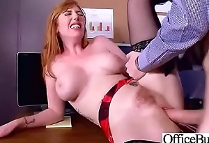 Sex In Office With Horny Gaffer Slut Girl (Lauren Phillips) video-14