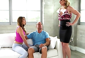 Moms At a loss for words Teens - A lick and dick: Cory Hunt Hither the porn scene