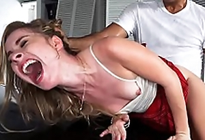 Lilly Ford fucked by her dad's mechanic